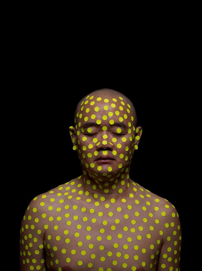 Liew Teck Leong. 'Body+Dots+Politics (Yellow)' 2016