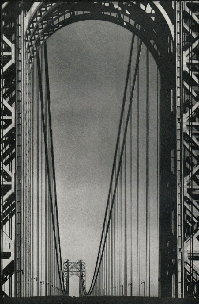 Margaret Bourke-White. 'George Washington Bridge' 1933
