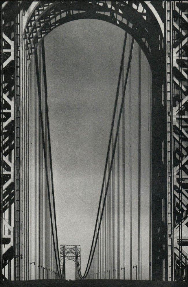Margaret Bourke-White. 'George Washington Bridge' 1933