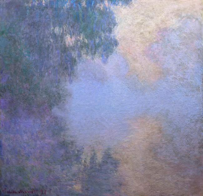 Claude Monet (1840-1926) 'Morning on the Seine' 1897