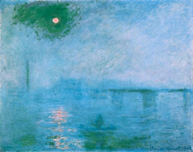 Claude Monet (1840-1926) 'Charing Cross Bridge: Fog on the Thames' 1903