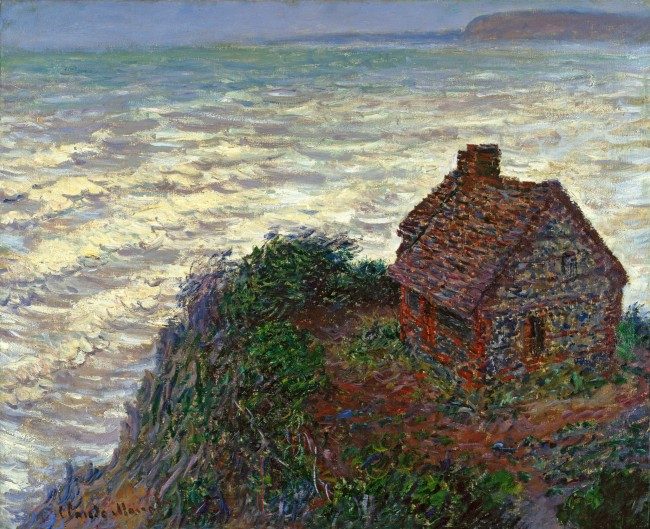 Claude Monet (1840-1926) 'The Customhouse' 1882