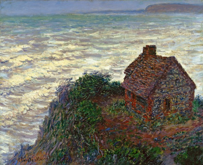 Claude Monet (1840-1926) 'The Customhouse' 1882