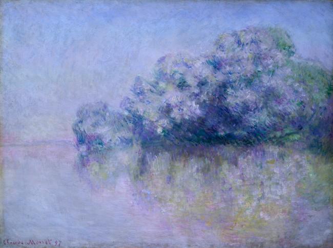 Claude Monet (1840-1926) 'Île aux Orties near Vernon' 1897