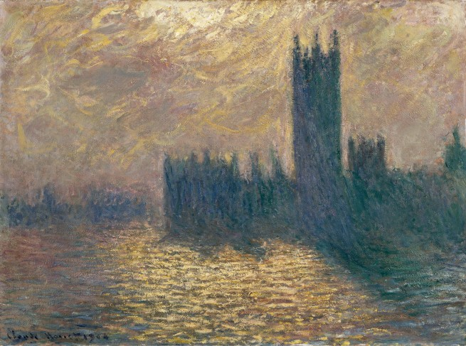 Claude Monet (1840-1926) 'Houses of Parliament, Stormy Sky' 1904