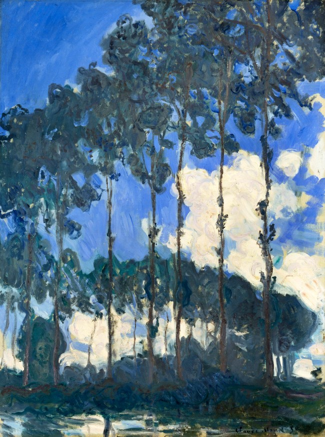 Claude Monet (1840-1926) 'Poplars on the Banks of the Epte' 1891