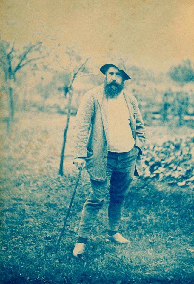 Theodore Robinson. 'Portrait of Monet' c. 1888-90