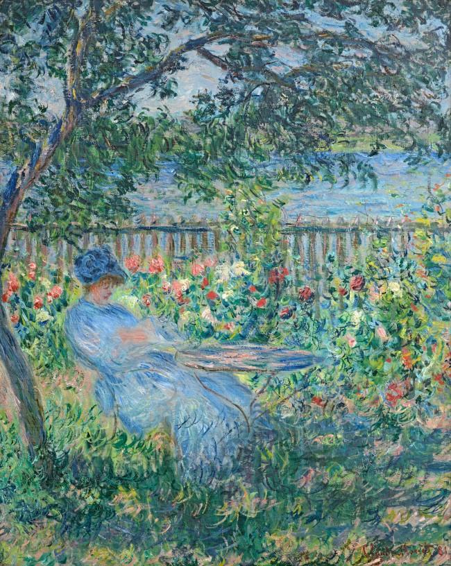 Claude Monet (1840-1926) 'The Terrace at Vétheuil' 1881