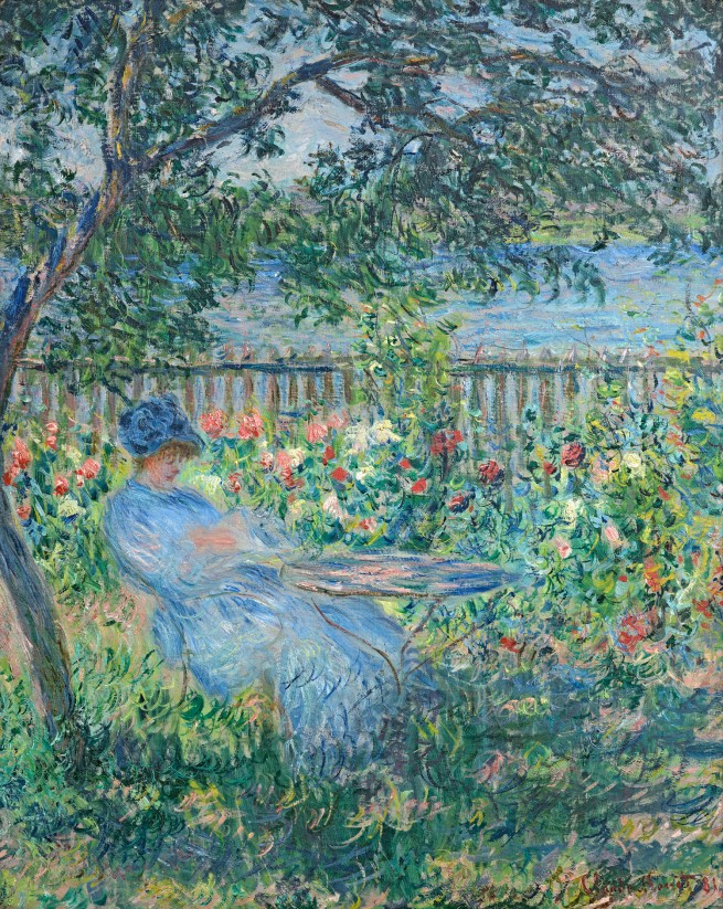 Claude Monet (1840-1926) 'The Terrace at Vétheuil' 1881