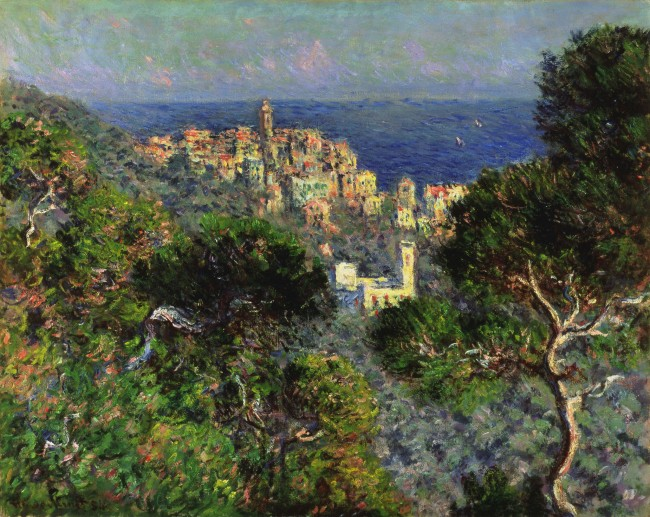 Claude Monet (1840-1926) 'View of Bordighera' 1884