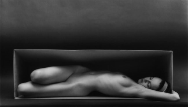 Ruth Bernhard (American, born Germany, 1905-2006) 'In the Box - Horizontal' 1962