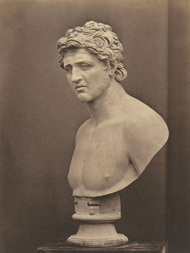 Roger Fenton (British, 1819-1869) 'Greek Hero' c. 1857