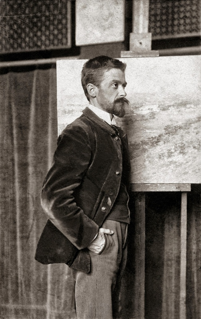 Unknown photographer. 'Portrait of Theodore Robinson' Nd