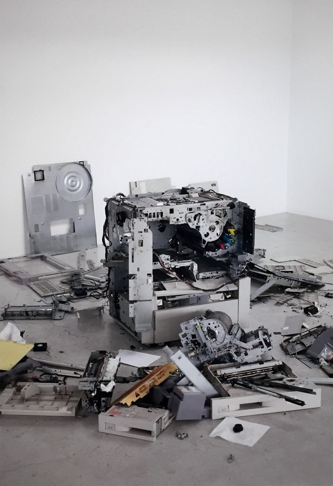 Wolfgang Tillmans (German, born 1968) 'CLC 800, dismantled' 2011