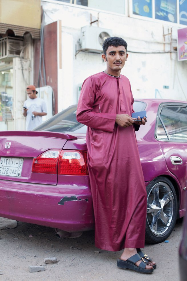 Wolfgang Tillmans (German, born 1968) 'Young Man, Jeddah' 2012