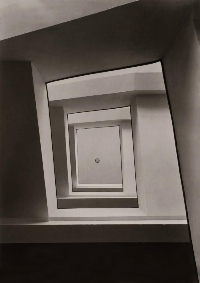 Werner Mantz. 'Staircase Ursuliner Lyzeum Cologne 1928'