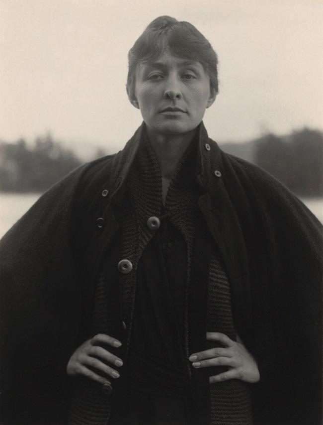 Alfred Stieglitz (American, 1864-1946) 'Georgia O'Keeffe' 1918