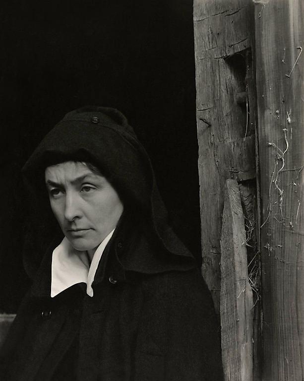 Alfred Stieglitz (American, 1864-1946) 'Georgia O'Keeffe' 1922