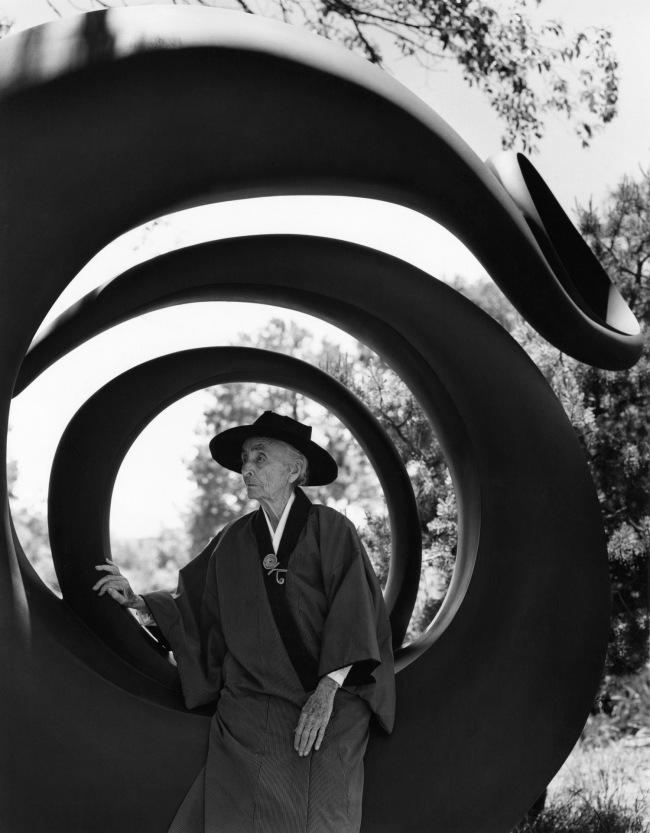 Bruce Weber (American, born 1946) 'Georgia O'Keeffe, Abiquiu, N.M.' 1984