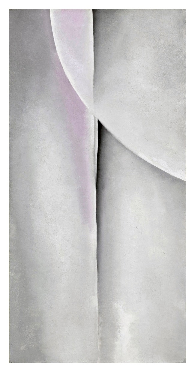 Georgia O'Keeffe (American, 1887-1986) 'Line and Curve' 1927
