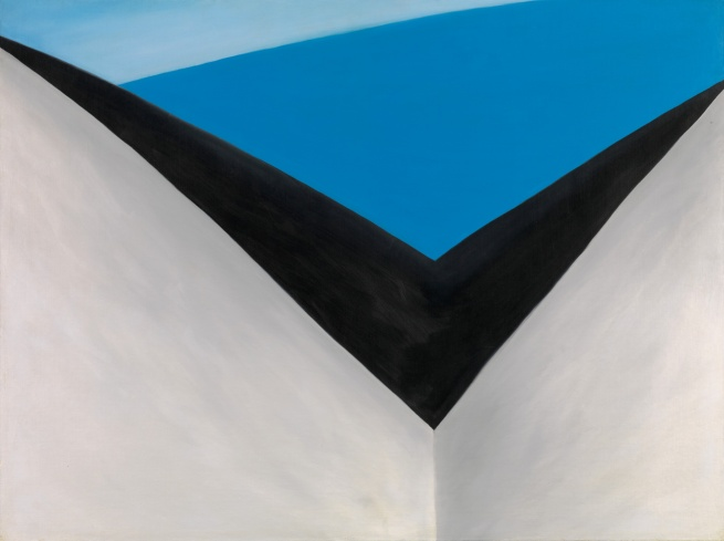 Georgia O'Keeffe (1887-1986) 'In the Patio IX' 1950