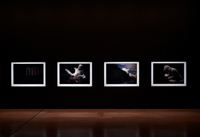 Installation view of the exhibition 'Bill Henson' at the National Gallery of Victoria. Presented as part of the NGV Festival of Photography