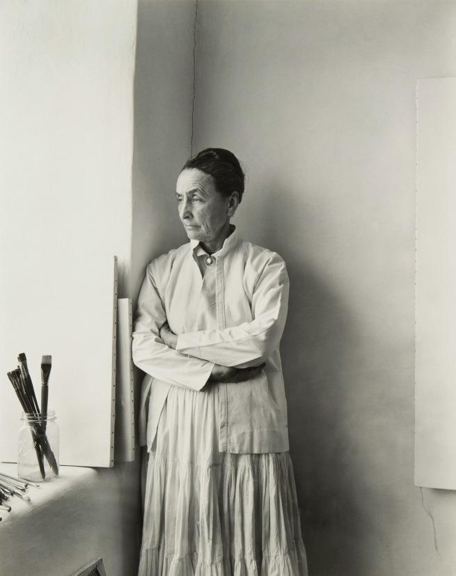Laura Gilpin (American, 1891-1979) 'Georgia O'Keeffe' 1953