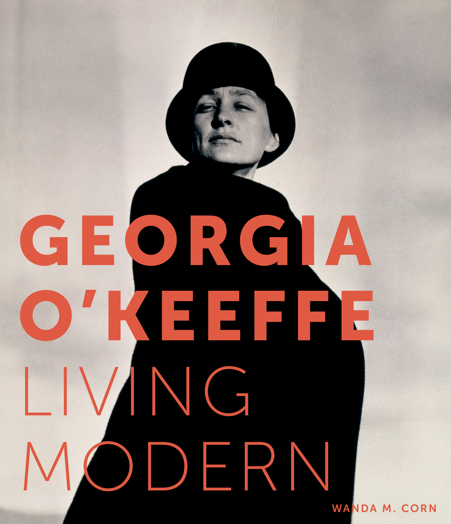 Modern Book Cover : Exhibition 'georgia o keeffe living modern at the