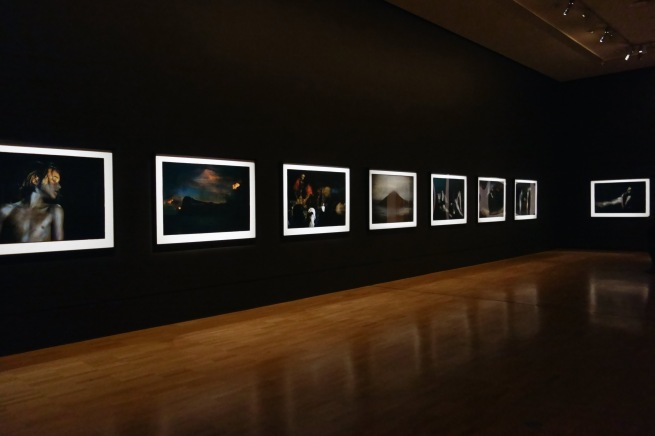 Installation view of the exhibition 'Bill Henson' at the National Gallery of Victoria Photo: © Dr Marcus Bunyan and the National Gallery of Victoria