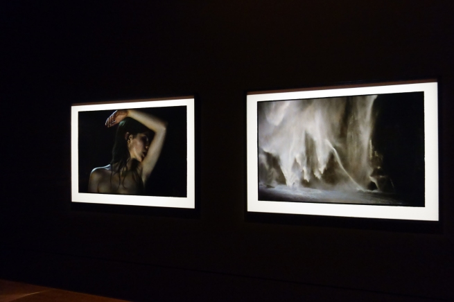 Installation view of the exhibition 'Bill Henson' at the National Gallery of Victoria Photo:© Dr Marcus Bunyan and theNational Gallery of Victoria