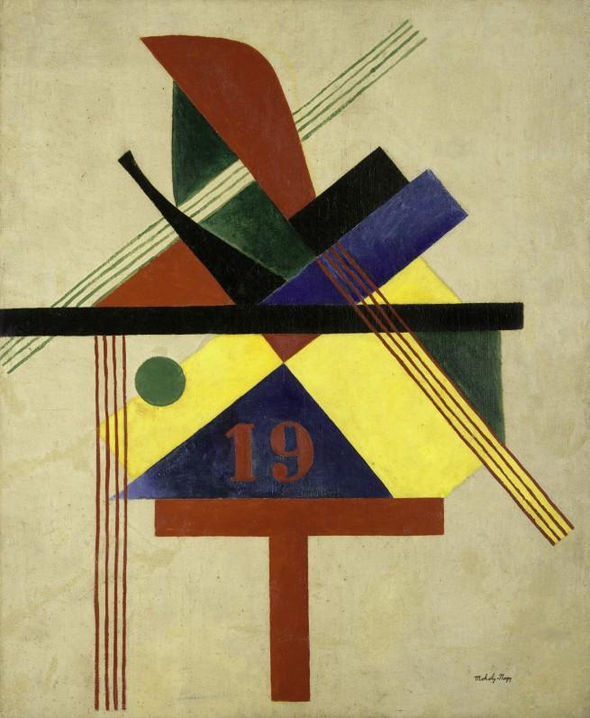 László Moholy-Nagy (1895-1946) '19' 1921