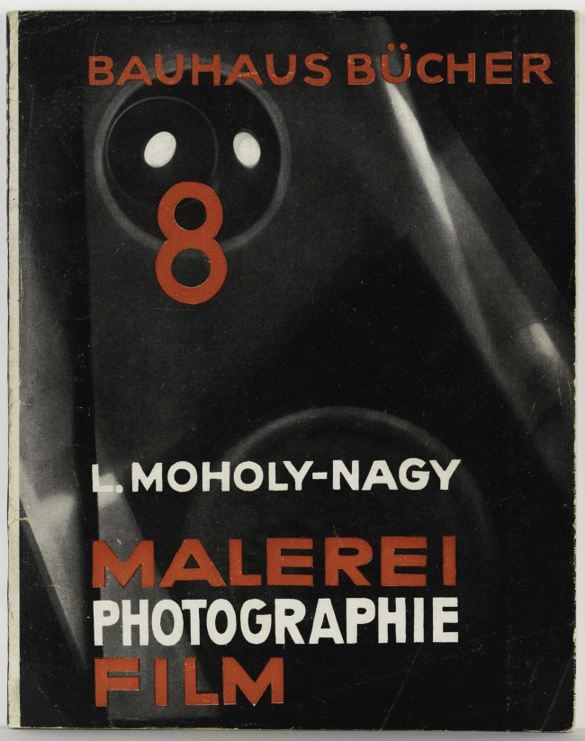 László Moholy-Nagy (1895-1946) 'Cover and design for Malerei Photographie Film (Painting Photography Film)' 1925