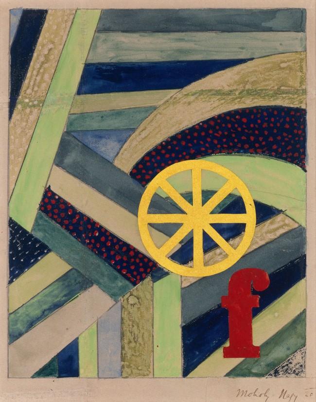 László Moholy-Nagy (1895-1946) 'F in Field' 1920