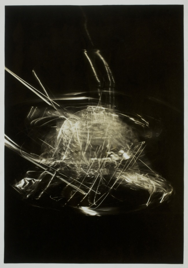László Moholy-Nagy (1895-1946) 'Photograph (Light Modulator in Motion)' 1943
