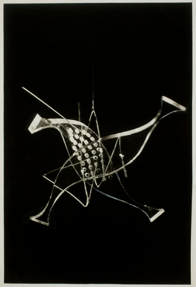 László Moholy-Nagy (1895-1946) 'Photograph (Light Modulator in Repose)' 1943