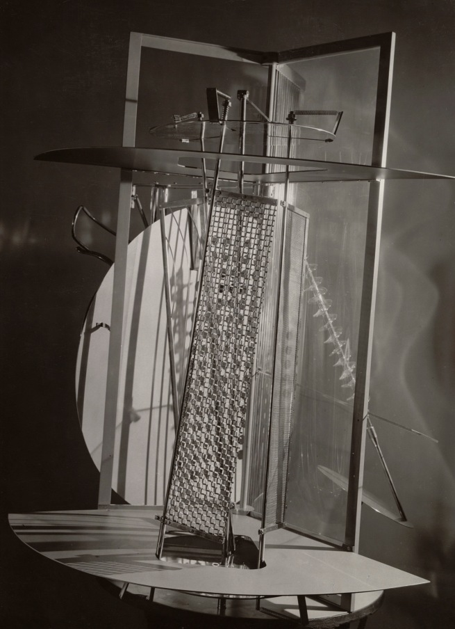 László Moholy-Nagy (1895-1946) 'Photograph (Light Prop)' c. 1930