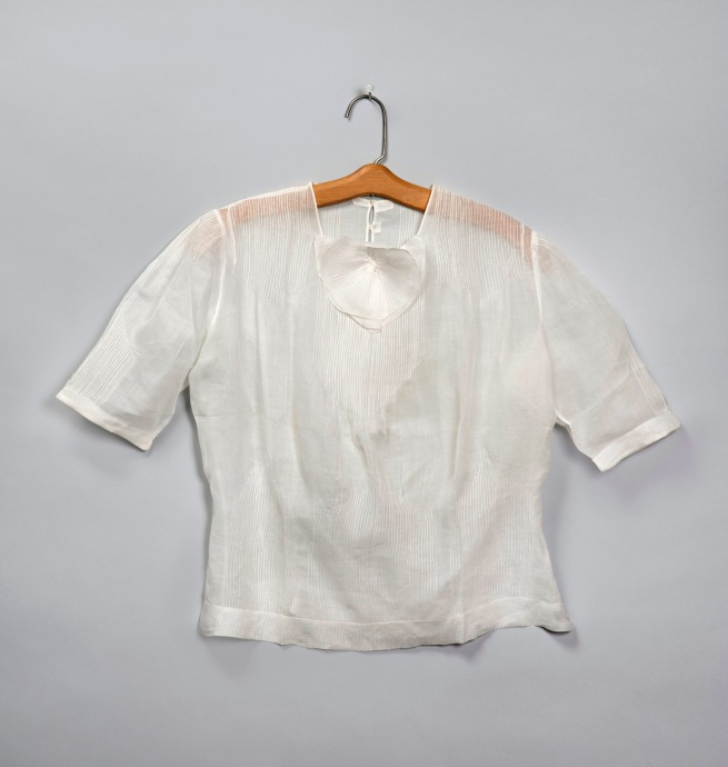 Attributed to Georgia O'Keeffe. 'Blouse' c. early to mid-1930s