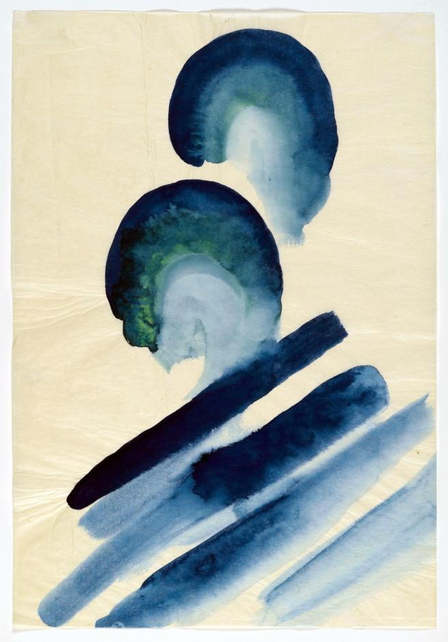 Georgia O'Keeffe (American, 1887-1986) 'Blue #2' 1916
