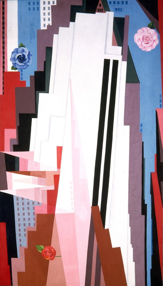 Georgia O'Keeffe (American, 1887-1986) 'Manhattan' 1932
