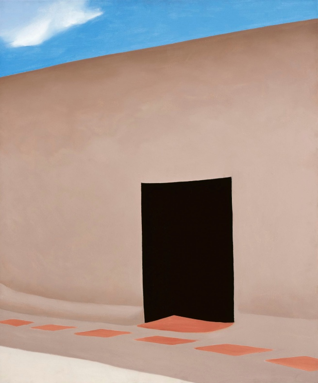 Georgia O'Keeffe (American, 1887-1986) 'Patio with Cloud' 1956