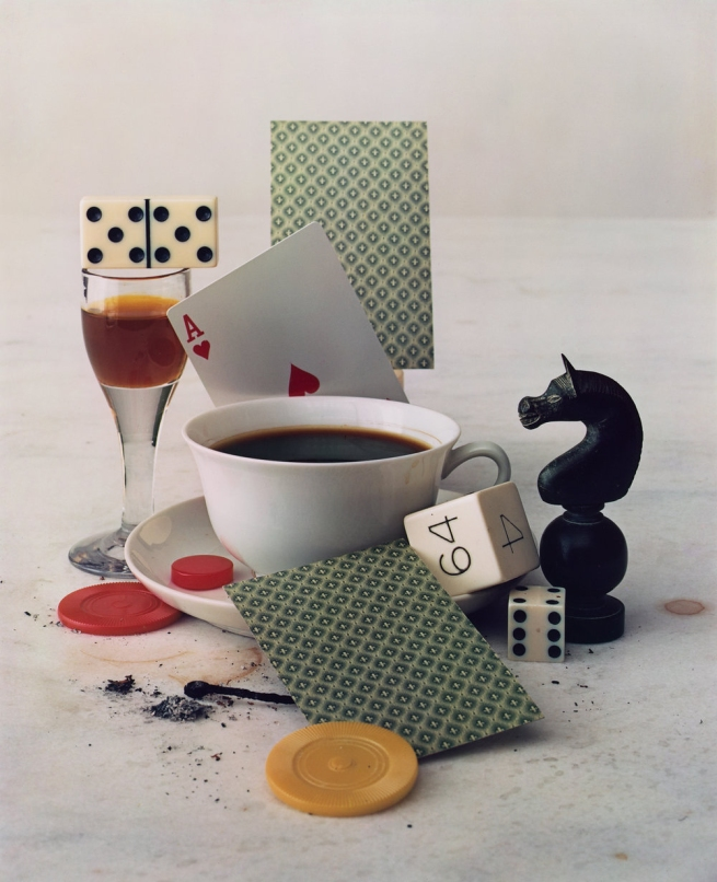 Irving Penn (American, Plainfield, New Jersey 1917-2009 New York) 'After-Dinner Games, New York' 1947, printed 1985