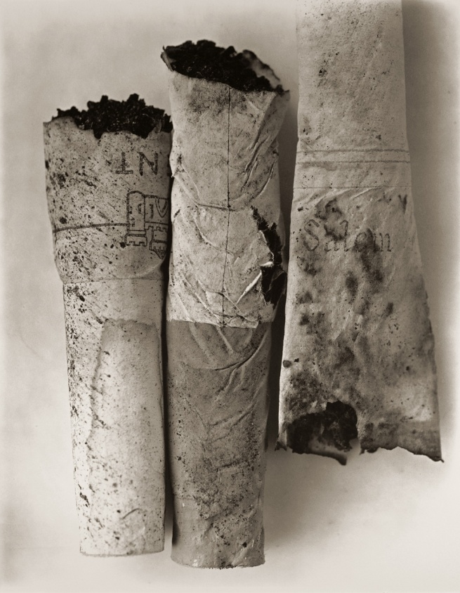 Irving Penn (American, Plainfield, New Jersey 1917-2009 New York) 'Cigarette No. 52, New York' 1972, printed April 1974