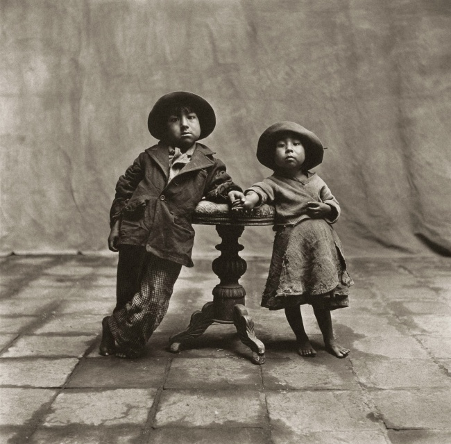 Irving Penn (American, Plainfield, New Jersey 1917-2009 New York) 'Cuzco Children' December 1948, printed 1968