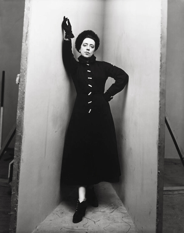 Irving Penn (American, Plainfield, New Jersey 1917–2009 New York) 'Elsa Schiaparelli, New York' March 29, 1948, printed c. 1948