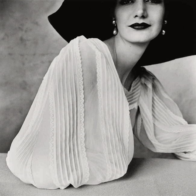 Irving Penn (American, Plainfield, New Jersey 1917-2009 New York) 'Large Sleeve (Sunny Harnett), New York' 1951, printed 1984