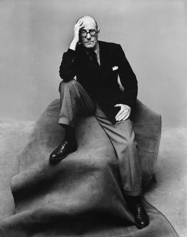 Irving Penn (American, Plainfield, New Jersey 1917-2009 New York) 'Le Corbusier, New York' 1947