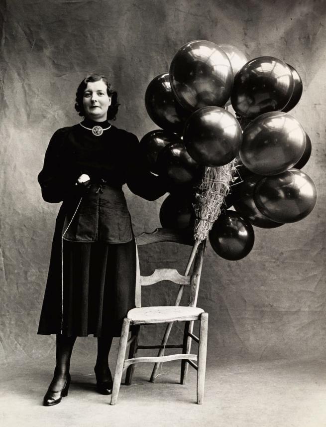 Irving Penn (American, Plainfield, New Jersey 1917-2009 New York) 'Marchande de Ballons, Paris' 1950, printed 1976