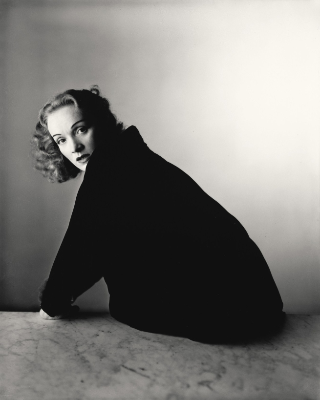 Irving Penn (American, Plainfield, New Jersey 1917-2009 New York) 'Marlene Dietrich, New York' November 3, 1948, printed April 2000