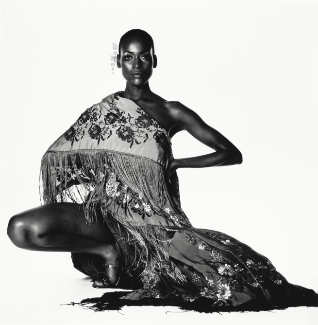 Irving Penn (American, Plainfield, New Jersey 1917-2009 New York) 'Naomi Sims in Scarf, New York, c. 1969' c. 1969, printed 1985