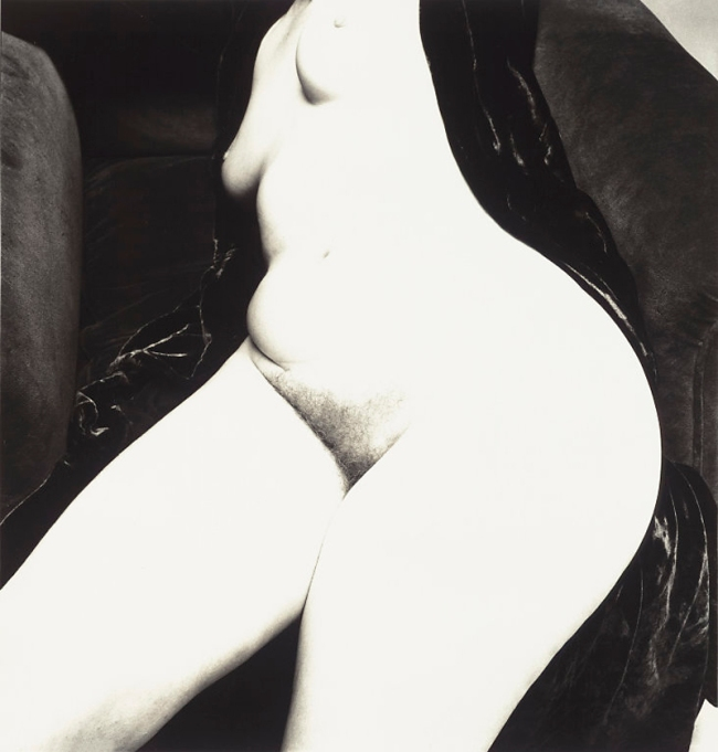 Irving Penn (American, Plainfield, New Jersey 1917-2009 New York) 'Nude No. 130' 1949-50, printed 1949-50